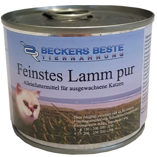 Beckers Beste Sensitive Lamm pur 200 g