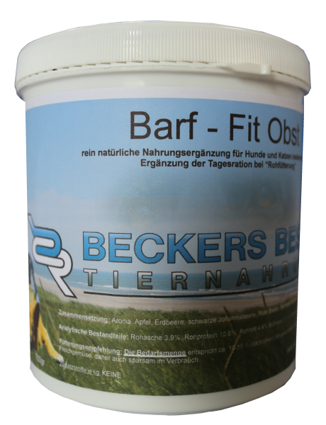 Beckers-Barf-Fit Obst 700g